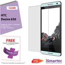 [Wholesale] HTC Desire 650 Tempered Glass Protector 0.26mm + 9H Hardne..