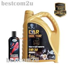 Car Doctor MyVi,Alza Platinum 5W/30 Fully + Astonish Leather Cleaner