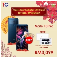 Huawei Mate 10 Pro with Exclusive Gifts, 128GB / 6GB RAM