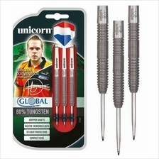 UNICORN STEEL TIP DARTS - DIRK GLOBAL NATURAL TUNGSTEN [21G]