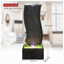 EXTRA LARGE WATER FOUNTAIN HEIGHT 132 CM HOME DECORATION DY2188 BLACK