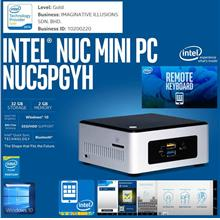 Intel NUC NUC5PGYH 2.4GHz 2GB RAM+32GB eMMC+WiFi-AC+BT+SDXC+Win10