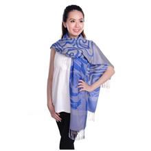 Autumnz Nursing Wrap/Poncho - Sicily Deep Blue