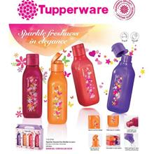 Tupperware Sparkle Square Eco Bottle Fliptop Cap (500ml) - 1pcs
