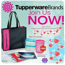 Tupperware Starter Member Membership Kit with Free Gift (Join NOW!)