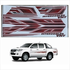 Hilux Kun25 Body Sticker 7