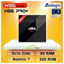 H96 PRO+ S912 Octa Core 3GB RAM 32GB ROM Android 7 TV Box T95Z M8S PRO
