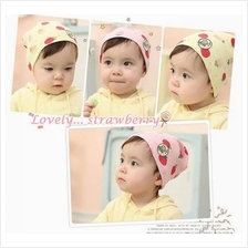 Strawberry Baby Girl Cap/Hats)