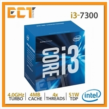 Intel Core i3-7300 Desktop Processor (4.00Ghz, 4MB SmartCache, 4 Threa