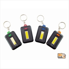 4 Pcs Portable Key Chain Flashlight Torch COB LED Light Lamp Camping L