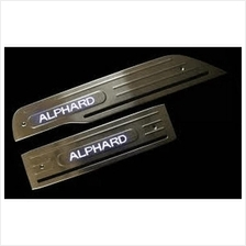 TOYOTA ALPHARD ANH20 2008-14 Stainless Steel LED Door Side Sill Step