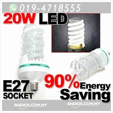 Spiral LED Energy Saving Lamp Bulb 20w