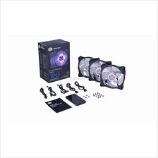COOLER MASTER MASTERFAN PRO 120 AP RGB 3IN1 WITH CONTROLLER CASING FAN