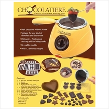 50% Off] Chocolatiere Fondue Machine & Decorating Kit Full + Deco Set