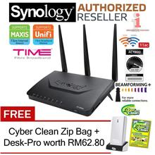 Synology RT1900ac Dual-Band 2.4GHz & 5GHz 1900Mbps Wireless-AC Router