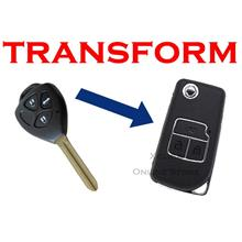 Flip key Holding Remote Key Case Shell for Toyota- 3 button