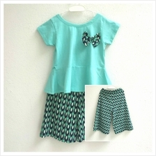 Kids Girl Clothing Cotton Top  & Pants Palazzo style B)