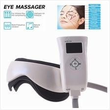 Eye and Temple Massager with Air Pressure Vibration Massage Music