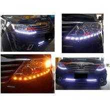 Toyota Fortuner '12 2-Function DRL R8 [NO Head Lamp]