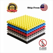 Ktv Studio Pyramid Acoustic Foam Sound Absorption 50x50CMx5CM ~ 8pcs