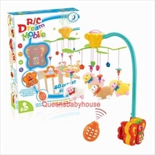 Baby Cot Musical Mobile Baby Toys (Sheep) 40Songs, Night light, Remote