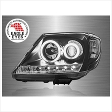 TOYOTA HILUX VIGO 2004-10 EAGLE EYES CCFL LED Ring Projector Head Lamp