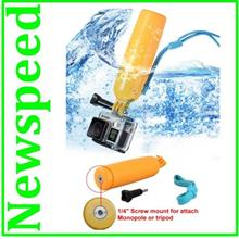 Dive Bouy Floating Pole Monopod bobber with screw mount for GoPro