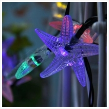 WTL - HX 30 STARFISH SHAPE SOLAR LED DECORATIVE LAMPS STRING LIGHT FOR