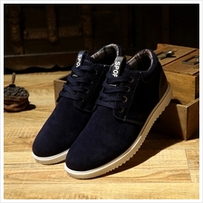 [MS 048] Men Shoes Business Formal Half Casual Outing Sneaker Man Fash