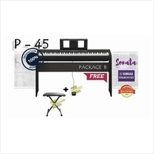 Yamaha Digital Piano  P 45 with FREE Items - Package B