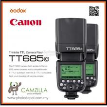 Godox TT685C Speedlite Flash with E-TTL II Autoflash for Canon EOS 5D