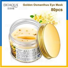 BIOAQUA 80 Pcs Eye Skin Care Golden Osmanthus Collagen Anti-Puffiness