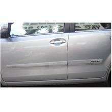NEW Myvi 2011 Door Side Moulding with chrome lining