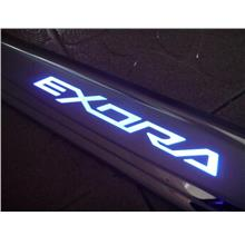 Proton Exora Stainless Steel LED Door Sill / Scuff Plate