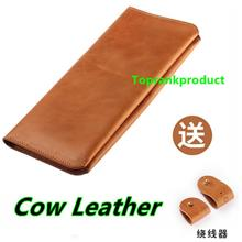 Cow Leather Huawei Honor Mate 7 8 P9 Plus Wallet Case Cover Casing