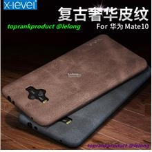 X-Level Huawei Mate 9 10 Pro Vintage Leather Back Case Cover Casing