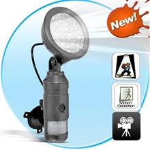 Motion Activated Camera/Security Light+Video Recording (DVR-30).!