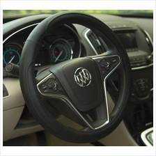 Micro-fibre Leather Car Steering Wheel Cover + Swiss Gear Padlock