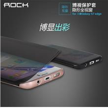 Samsung Galaxy NOTE FE ROCK Dr.V S-View Transparent Flip Cover Case
