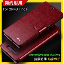 OPPO Find 7 Find7 X9007 Flip Leather Stand Armor Case Cover Casing