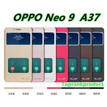 Alivo OPPO Neo 9 Neo9 A37 Flip PU Leather Stand Case Cover Casing