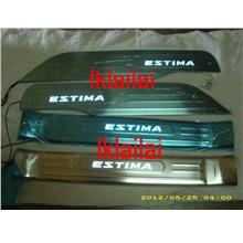 Toyota Estima ACR50 '08 Side/Door Sill Plate LED [4pcs/set]