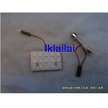 15 LED (SMD) ROOM LAMP PCB (3X5 ARRAY) WHITE