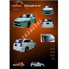 Honda Stream Mugen '07-08 PU Material Full Set Body Kit