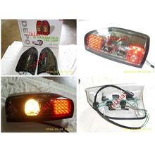 DEPO Isuzu D-Max '02 LED Tail Lamp Crystal Smoke