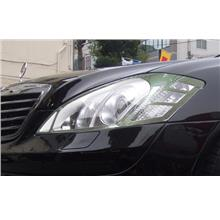 Mercedes Benz W221 `06 HEAD LAMP RIM CHROME(W221-HL01-U)