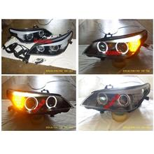SONAR BMW E60 Projector Head Lamp LED Signal & Eye Brown [D2S Bulb]
