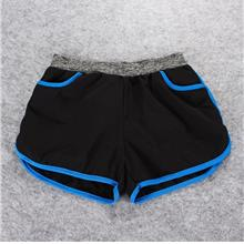 Quick Dry with Inner Ladies' Sport Shorts (Blue))