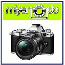 NEW Olympus E-M5 Mark II (Silver) With 14-150mm Lens + 8GB + Bag