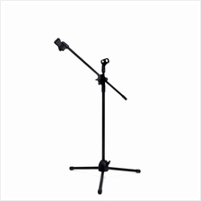 Boom Microphone Mic Stand Stage W/ Two Clips